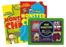 Deal of the Week - Read & Create for Boys This deliciously disgusting Deal contains: Monster & Chips Night of the Living Bread by David O'Connell, Monster & Chips Where The Food Bites Back by David O'Connell & Mini Monsters tin so you can create your very own monster army! Get your Deal here: http://www.readerswarehouse.co.za/deal-of-the-week-read-create-for-boys