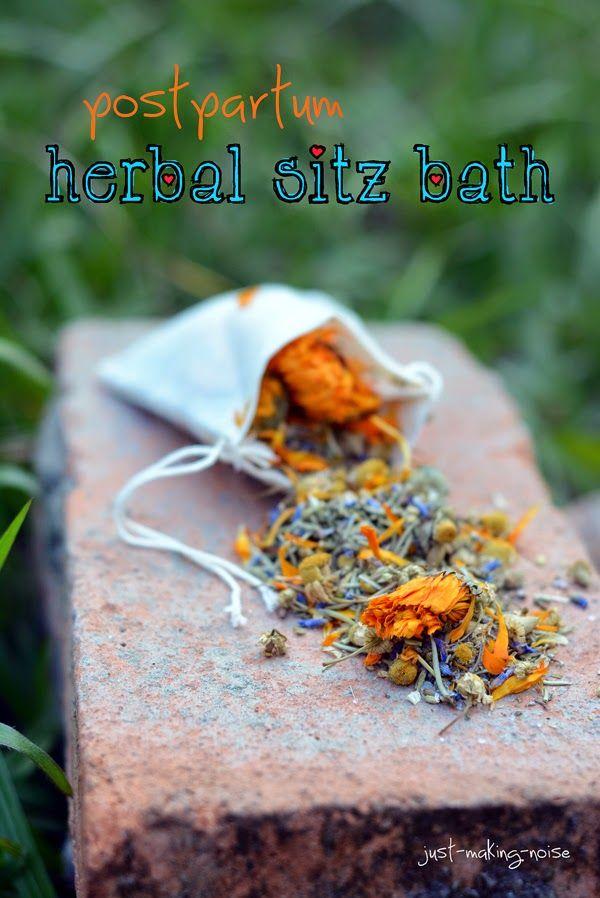 just-making-noise: Pregnancy Notes: Postpartum Herbal Sitz Bath {recipe}