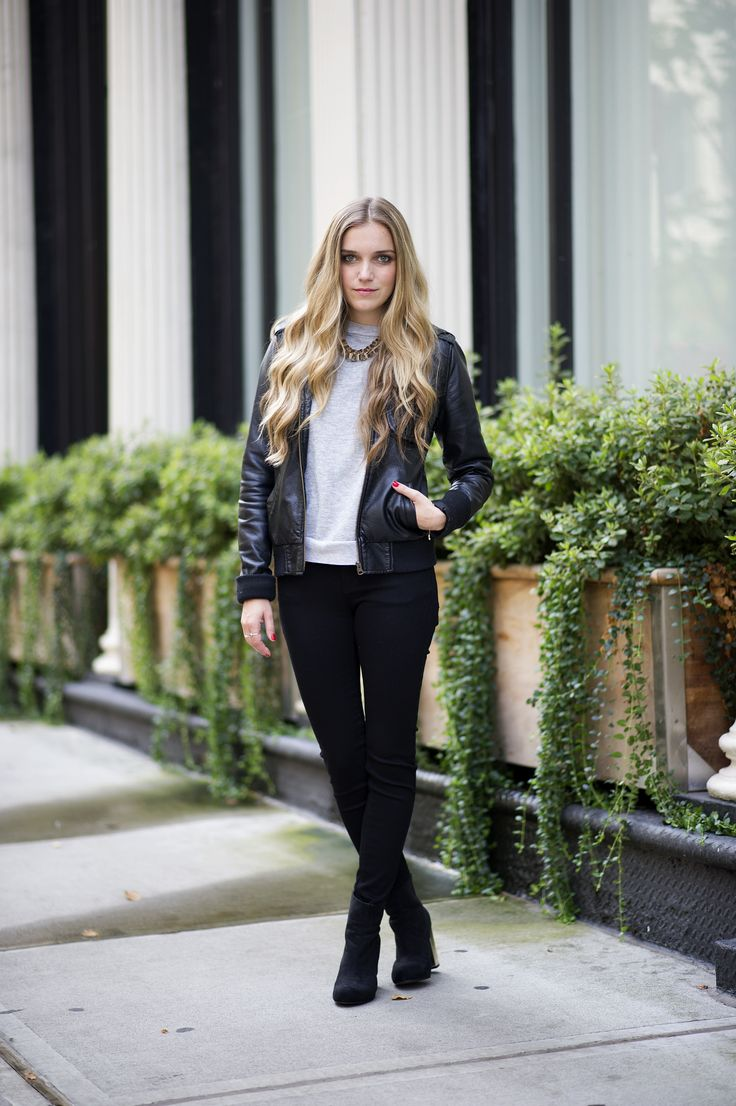 How They Do It On The Streets: Not-So-Basic Black Pants #refinery29