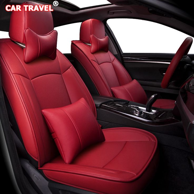 Best price make custom leather car seat cover set for