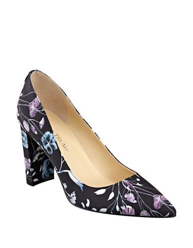 Ivanka Trumo Floral Pumps as seen on Ivanka Trump
