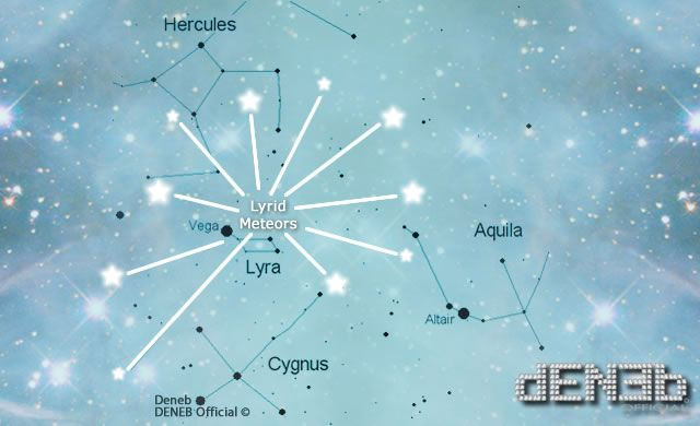 Stelle Cadenti d'Aprile: Occhi al Cielo per Le Liridi – The annual Lyrid Meteor Shower | DENEB Official ©