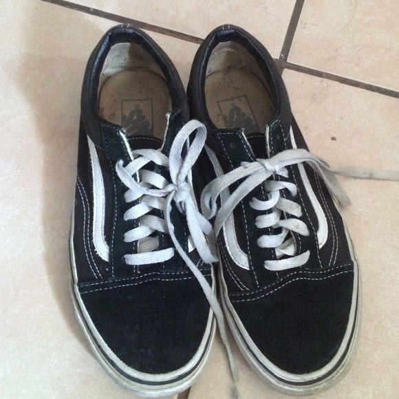 Vans sk8 lows Size 7.5 very used Vans Shoes