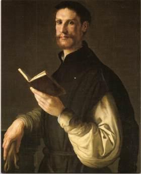Pontormo, Portrait of a Gentleman (?Cosimo Bartoli), 1541-44, Private Collection