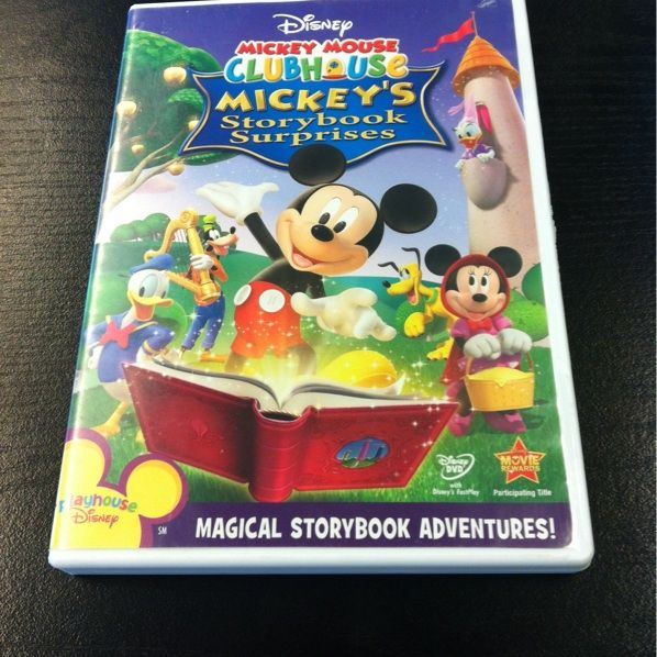 Disney Mickey Mouse Clubhouse DVD