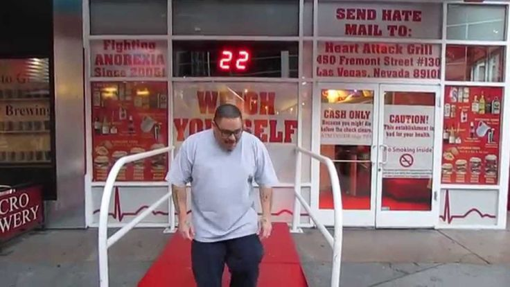 Heart Attack Grill - Fighting Anorexia Since 2005