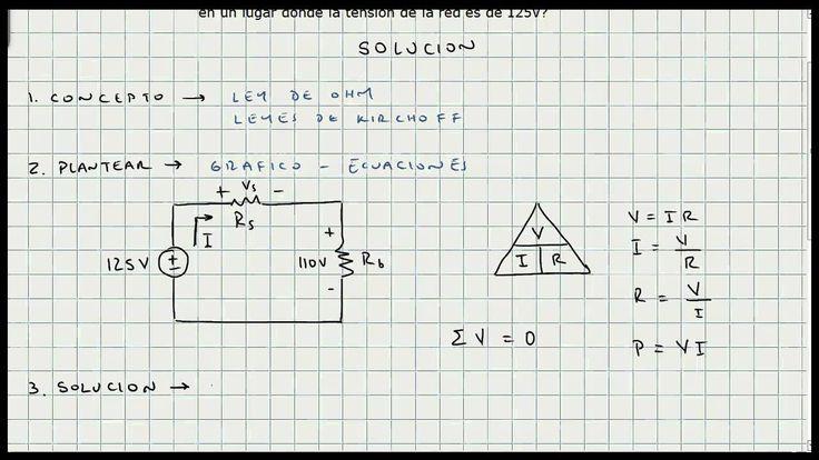 Ejercicio Ley de Ohm - Leyes de Kirchoff - Circuitos Electricos - Video 124