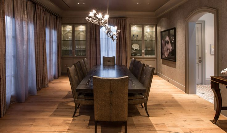 Jordan Spieth's Home Dining Room - Jordan Spieth's House | Coastal Lifestyle