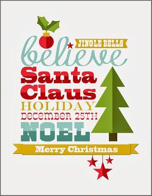 Christmas-Printable Free printable
