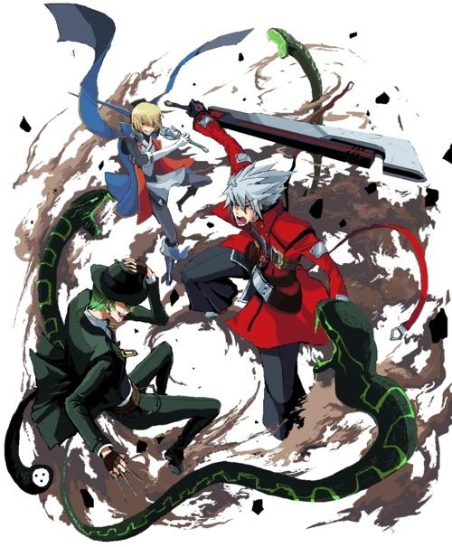 Jin, Ragna and Hazama