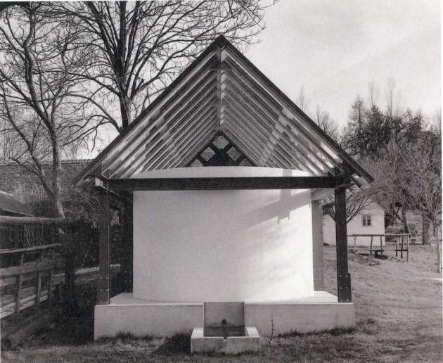 Walter Pichler, House for the Troughs, Front View