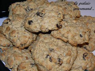 Le palais gourmand: Biscuits au gruau de Rolande