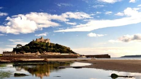 St Michael's Mount, off the coast of Mount's Bay in Cornwall, is a tidal island topped by the stunning long-time home of the St Aubyn family. At this breathtaking National Trust site you can immerse yourself in history, wonder at the architecture and discover the legend of Jack the Giant Killer.
