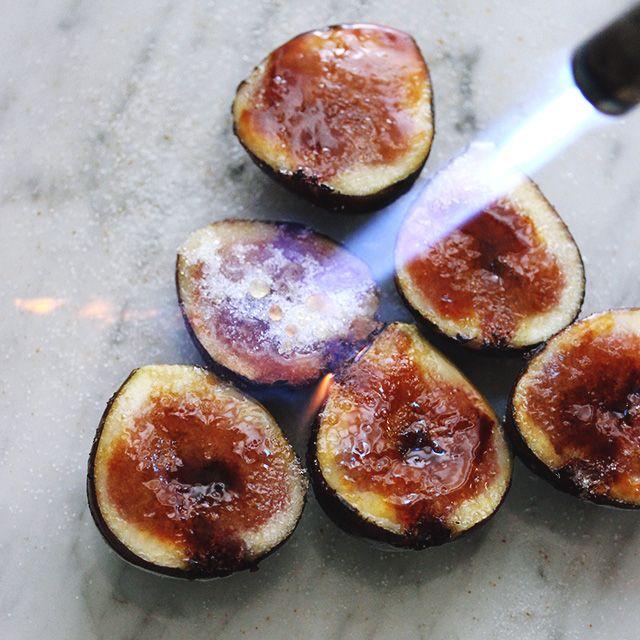 Fig Brulee
