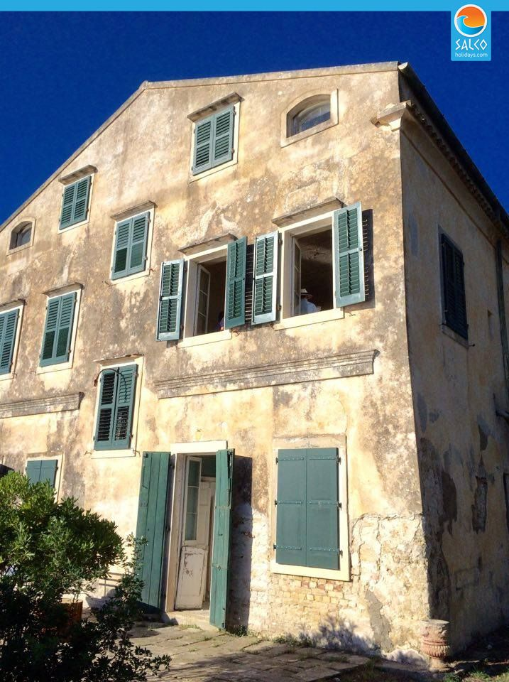 ITV The Durrells House Kontokali Corfu - Salco Holidays ...