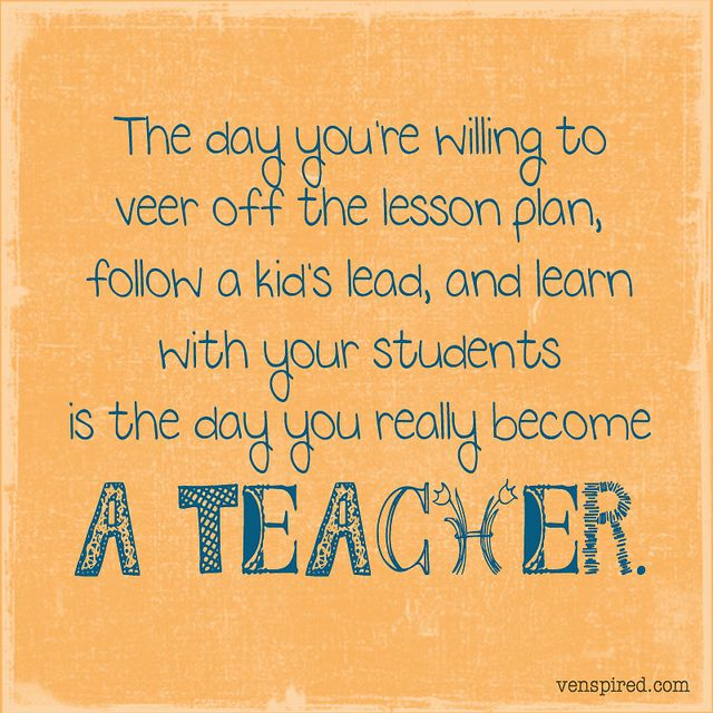 a teacher.