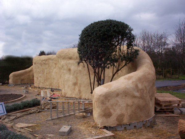 Straw Bale Wall Architectural Features Straw Bales