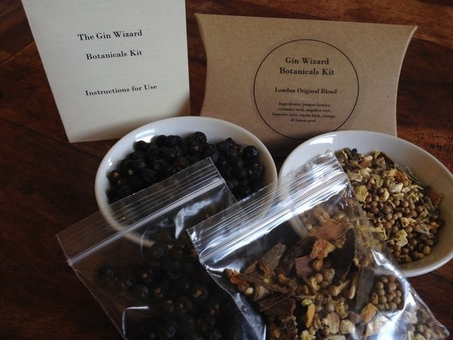 Home made Gin Botanicals Kit - Make Gin at home in 3 easy steps