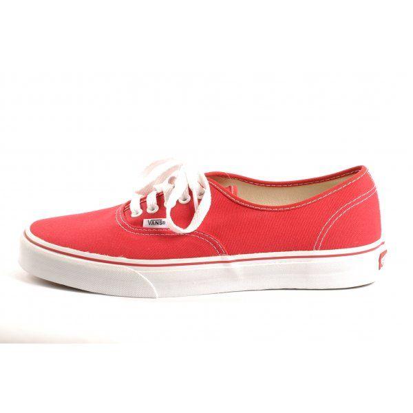 www.vans | Vans Shoes Vans Authentic Red - Head to Toe Clothing