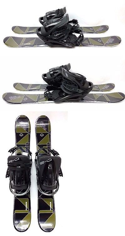 Other Downhill Skiing 1302: Five-Forty 90Cm Panzer Snow Blades And Bindings -> BUY IT NOW ONLY: $310 on eBay!