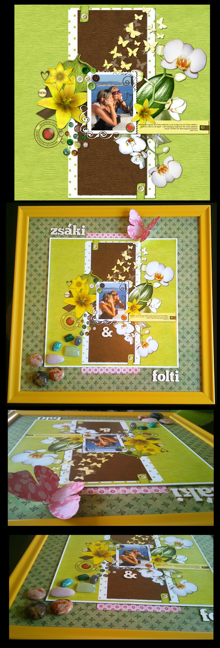 Digital to regional.  Digital scrap pic get frame, minerals, some decor and it goes to regular scrap.