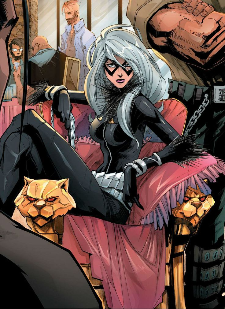 Black Cat by Humberto Ramos