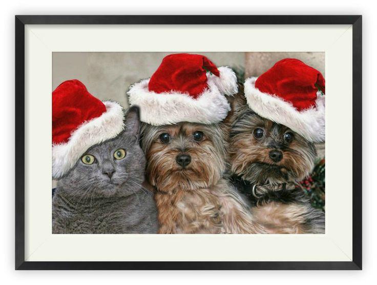 """Tablou """"Santa's Helpers"""" http://www.artfoyer.ro/santa-s-helpers.html"""