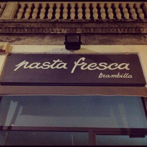 a pasta shop in milan