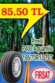 Pirelli Otomobil Lastik 165/70R13 79T P400 Aquamile
