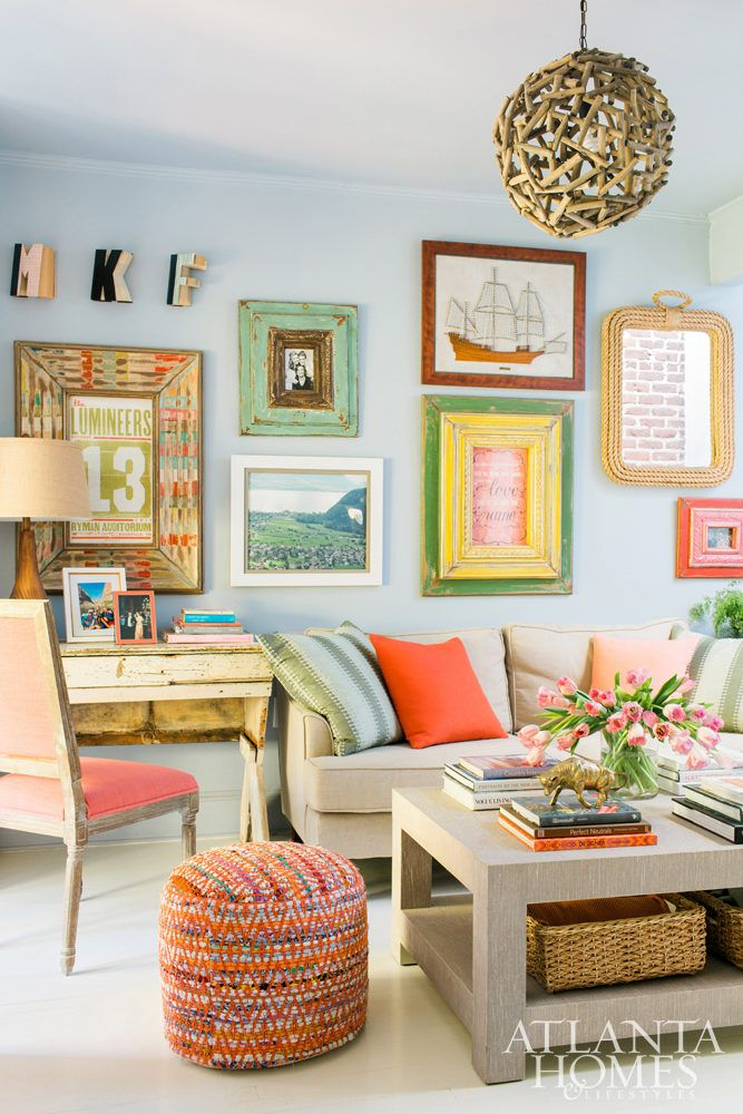 Marvelous Colorful Family Room Ideas Part - 13: Family Room, June 2016