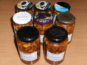 ausprobiert  Pilze: Pfifferlinge in Salzlake