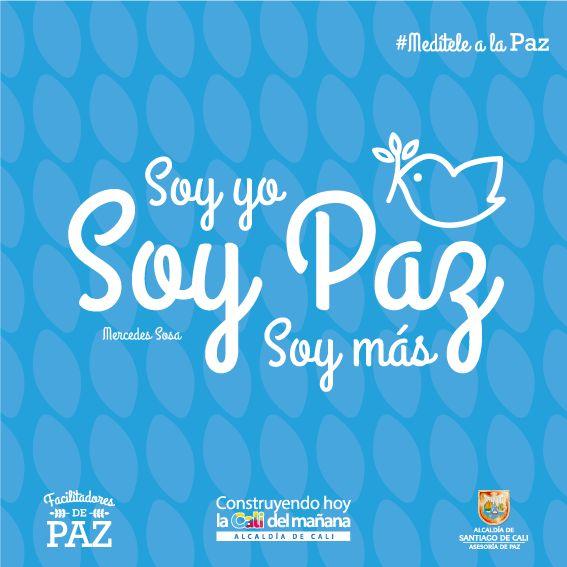 """#MedíteleALaPaz en acciones diarias; campaña por el Día Internacional  """"La paz no se logra solo con la firma en los diálogos de la Habana, sería un logro muy importante, pero ese no es el reto, la tarea es para cada uno de los caleños y a diario"""".  Este 21 de septiembre, Día Internacional de la #Paz es un buen momento para los que no han empezado. http://bit.ly/1OMmdeZ"""