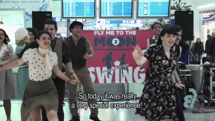 Οι Athens Lindy Hop μας απογείωσαν χορεύοντας swing χορούς από τη δεκαετία του '20 μέχρι και τη δεκαετία του '40 στο Διεθνή Αερολιμένα Αθηνών, την Παρασκευή 16 Ιανουαρίου. Διαβάστε περισσότερα: https://www.youtube.com/watch?v=dk4QhBe-0So