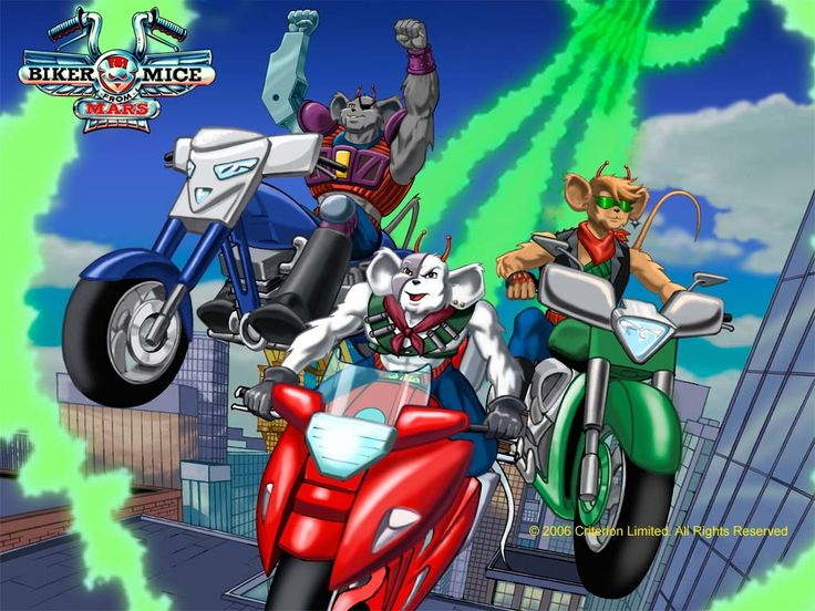 Biker+Mice+From+Mars | Cartoon: Biker Mice From Mars