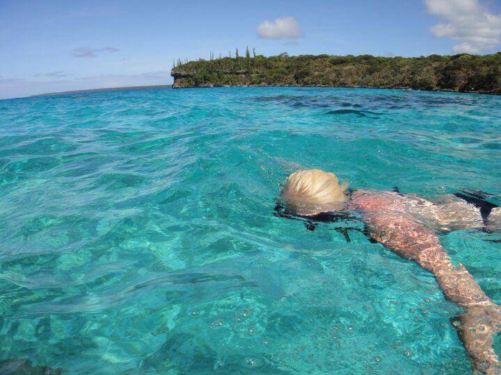#AustraliaDayOnboard #P&Ocruises #snorkelling #Lifou