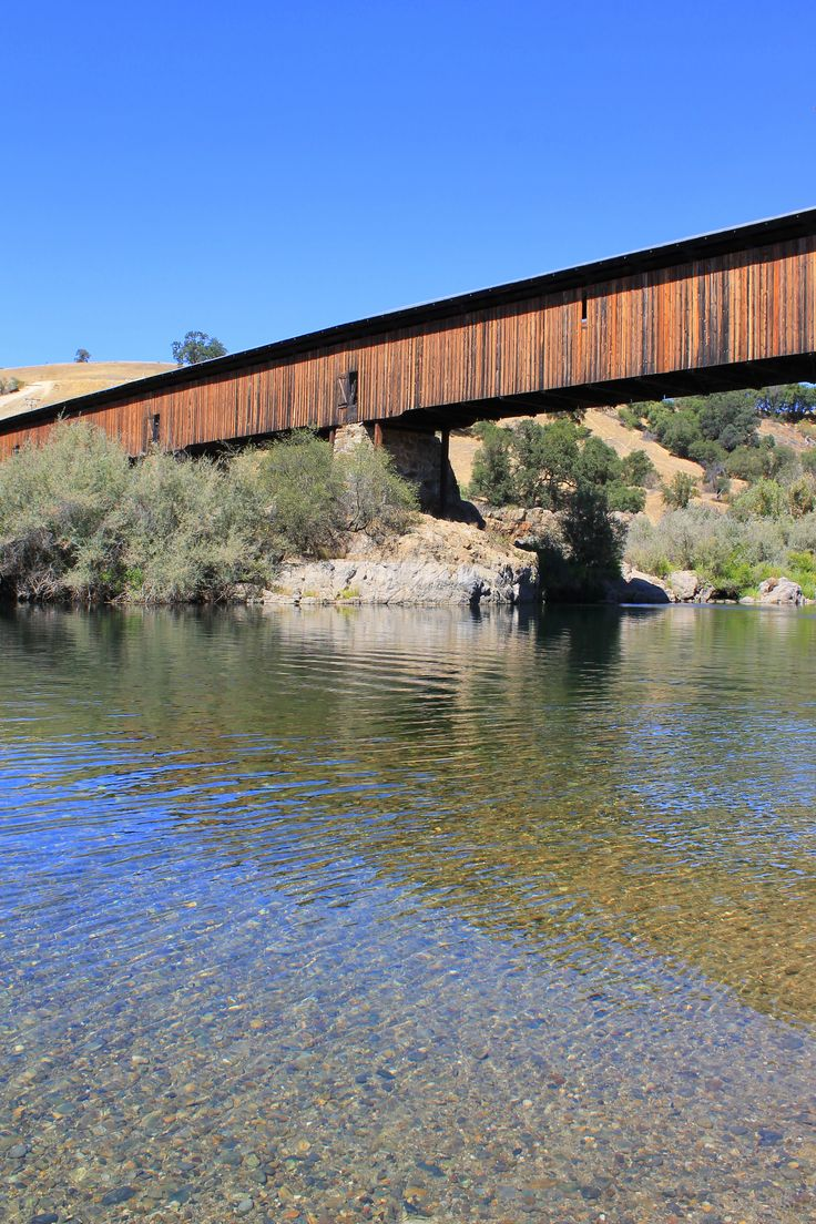 Covered bridge in knights ferry ca swimming holes for Knights bridge