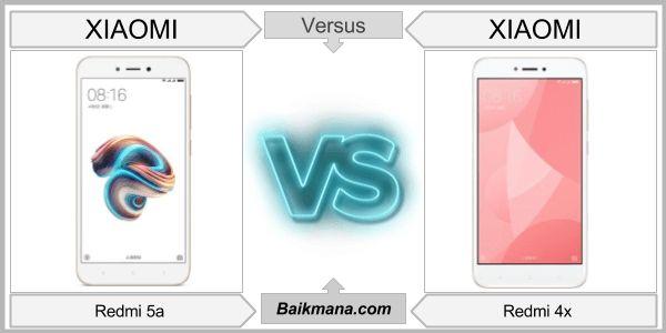 Xiaomi Redmi 5a vs Redmi 4x baik mana