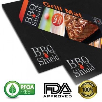 BBQ Shield's Grilling Accessory Makes Grilling Small Food ...