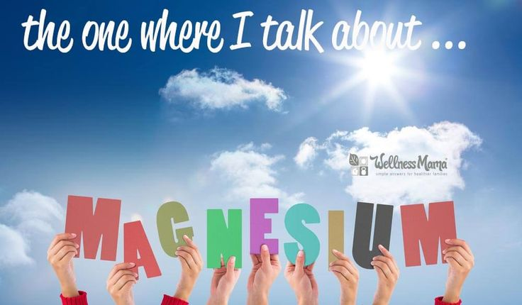 The importance of topical magnesium The One Where I Talk About Topical Magnesium
