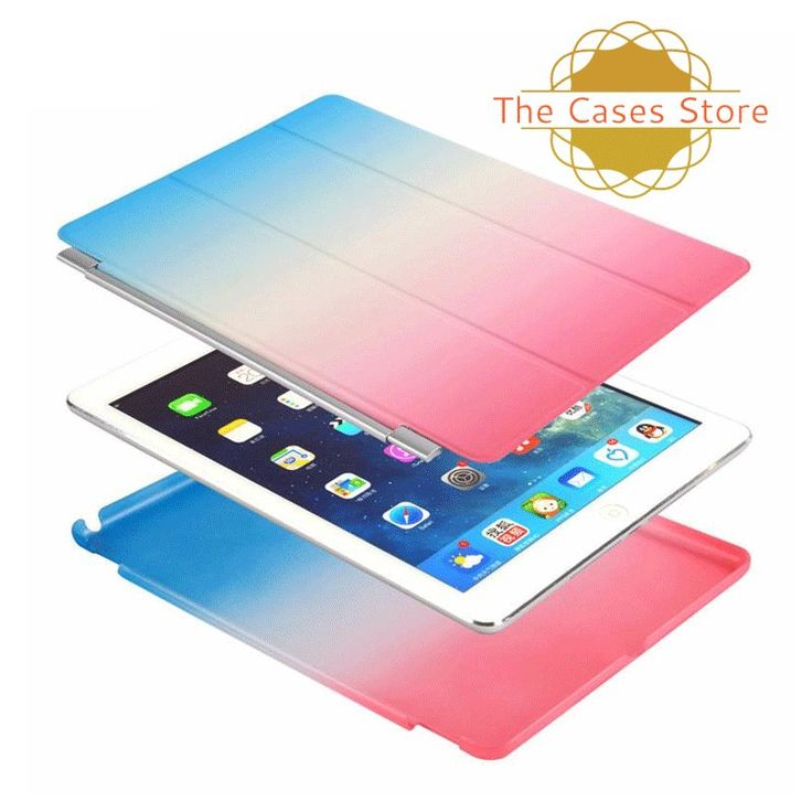 RAINBOW GRADIENT LEATHER AND PLASTIC BACK COVER FOR APPLE IPAD AIR 1 Don't miss this amazing treat. Buy now! https://www.thecasesstore.com/products/rainbow-gradient-leather-and-plastic-back-cover-for-apple-ipad-air-1 #thecasesstore