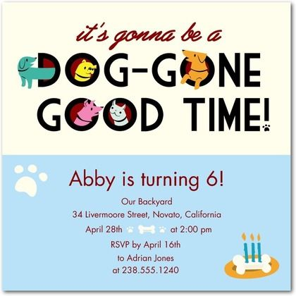35 best images about bulldog party – Puppy Party Invitation