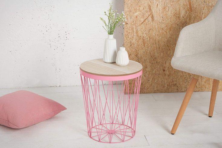 Storage Ii Pink Dump Table Decorator Home Otthondekor Home Decorator Dump Home I Beistelltisch Mit Stauraum Design Beistelltisch Couchtisch Truhe
