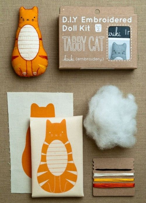 super cute stuffed cat gift idea