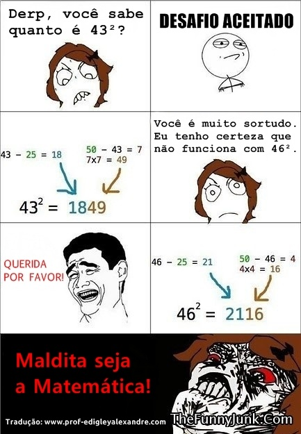 Maldita seja a Matemática!