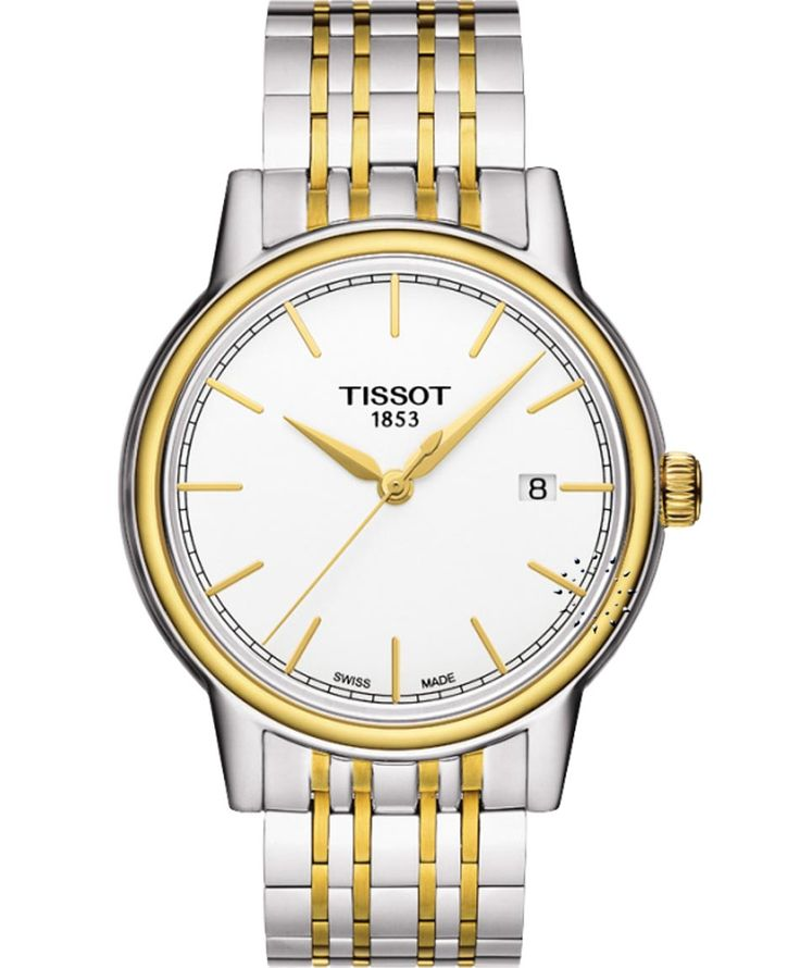 TISSOT Carson Gold Two Tone Stainless Steel Bracelet Η τιμή μας: 283€ http://www.oroloi.gr/product_info.php?products_id=35379