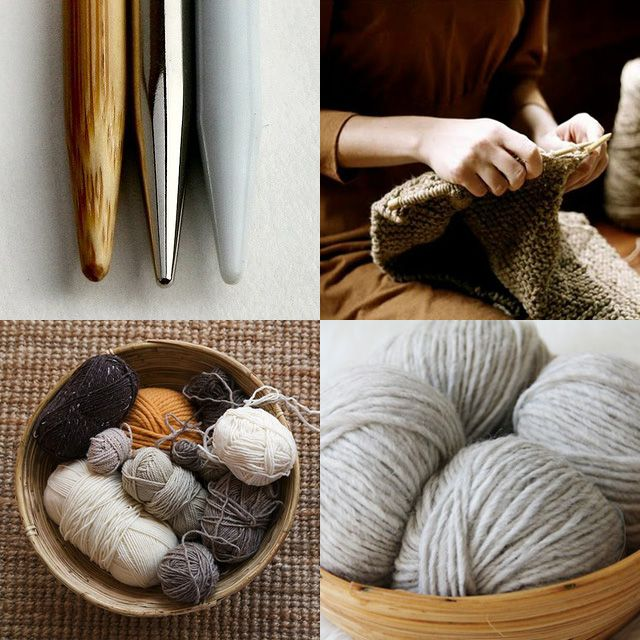 I love knitting, and these shades of yarn look very comfortable