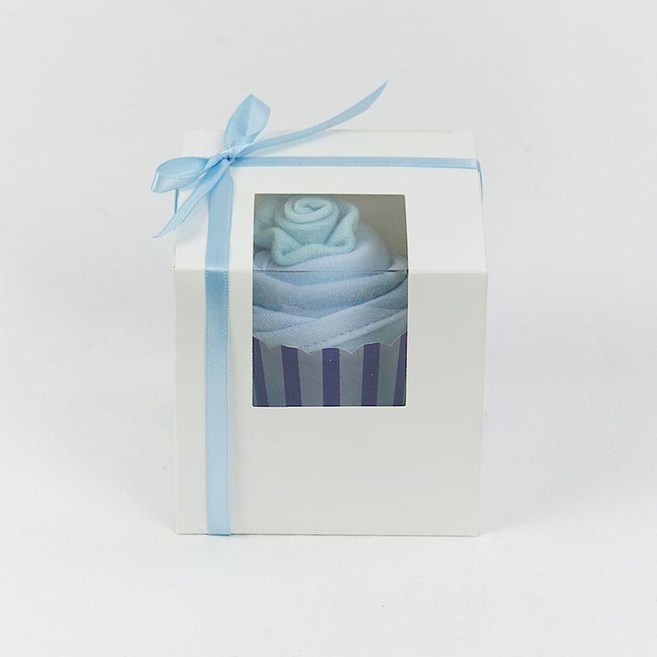 Blue Baby Boy Cupcake!