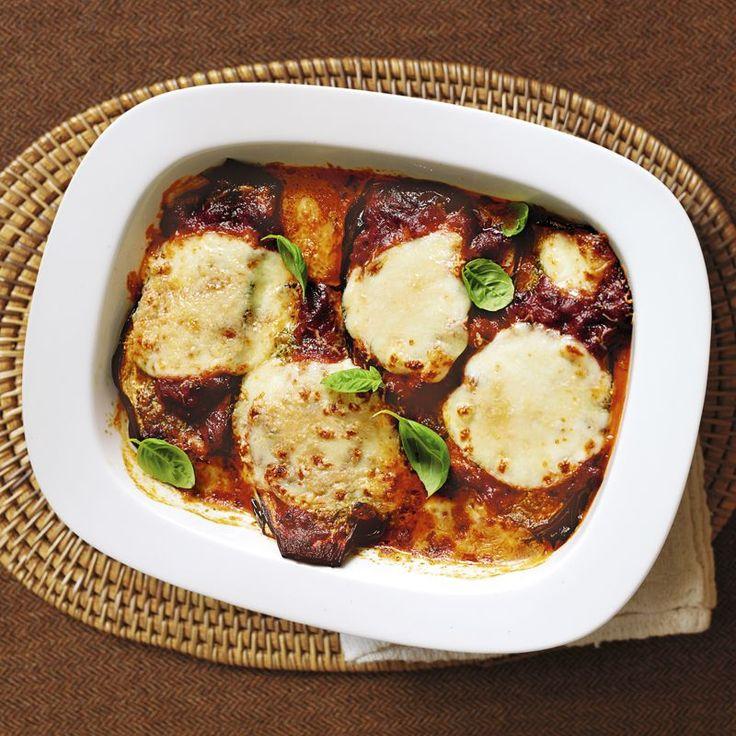 Aubergine Parmigiana Rezepte | Weight Watchers