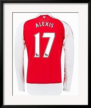 ALEXIS-SANCHEZ-17-POSTERIZED-ARSENAL-HOME-SHIRT-FRAMED-POSTER