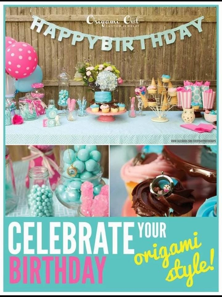 1000+ images about Origami Owl Birthday Parties on Pinterest - photo#47